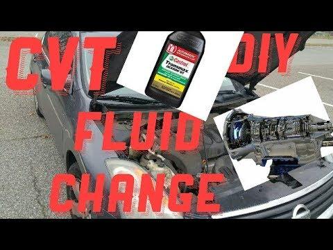 2008 Nissan Altima Do It Yourself Cvt Transmission Fluid Change