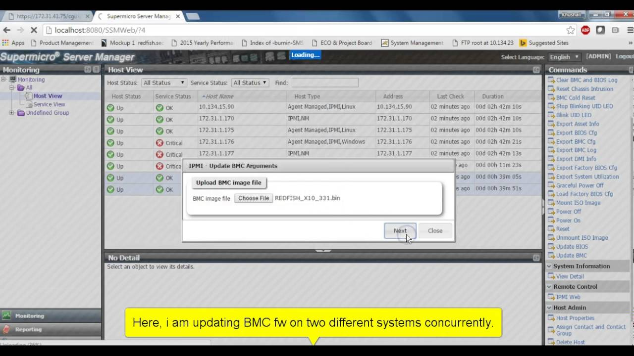 Supermicro BMC FW Update - YouTube