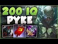 watch he video of STOP PLAYING PYKE WRONG! 200 IQ PYKE BUILD IS TOO BUSTED! PYKE TOP GAMEPLAY! - League of Legends