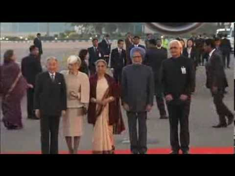 Japanese Royal Couple Arrives In New Delhi For Official India Tour