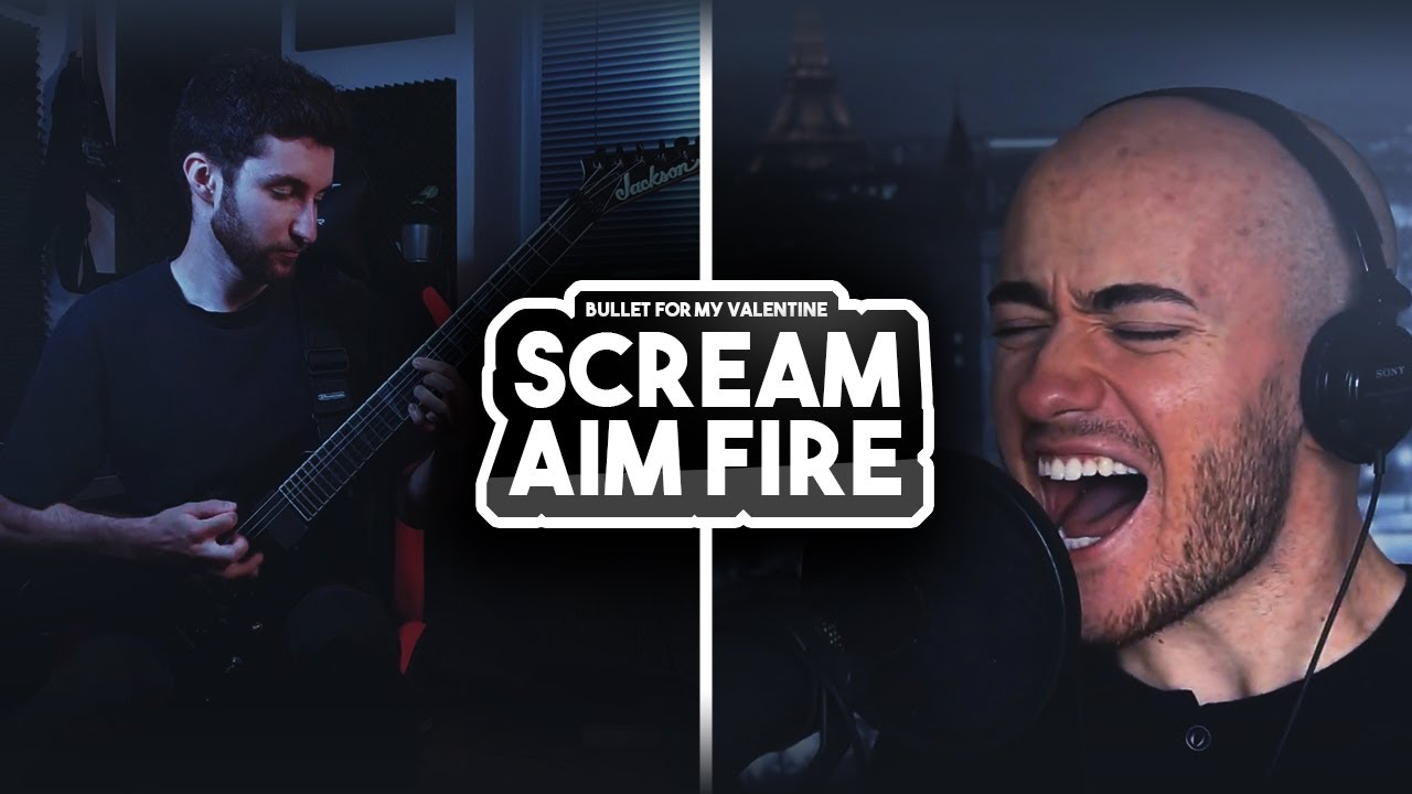 Bullet For My Valentine - Scream Aim Fire | Cover by Victor Borba and Yusef Gusev