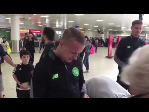 """Leigh Griffiths tells Gers fan """"Your clubs dead mate, beat it"""""""