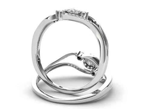 0.12 Carat Diamond Promise Ring
