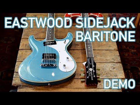 Sidejack Baritone Demo - Eastwood Guitars In Nashville