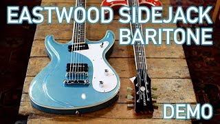 Sidejack Baritone Demo - Eastwood Guitars in Nashville