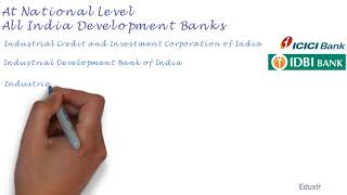 National and State Level Financial Institutions
