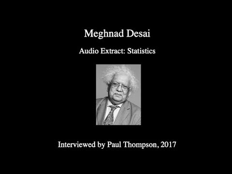 Meghnad Desai on 'Statistics'
