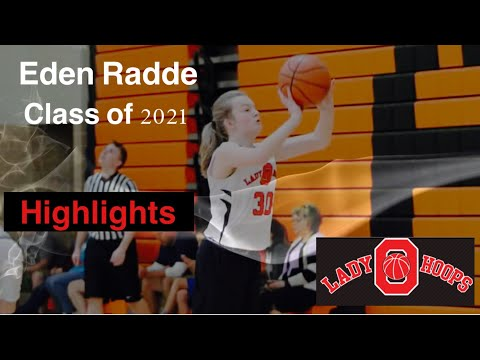Eden Radde Ohio Lady Hoops AAU 2017 Highlight Film