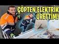 Gambar cover 1 Günlüğüne Temizlik Görevlisi Oldum! Çöpten Elektrik Üretmek! #AlperStajda