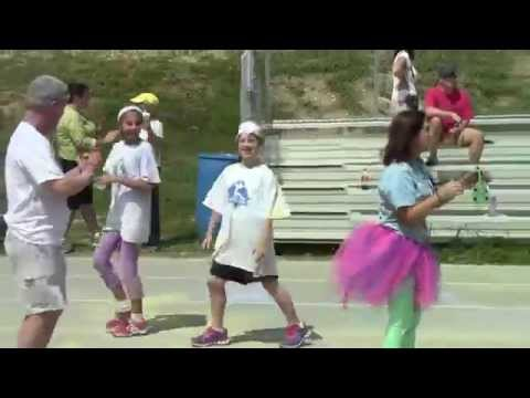 Northwood Middle's Color Run 2014