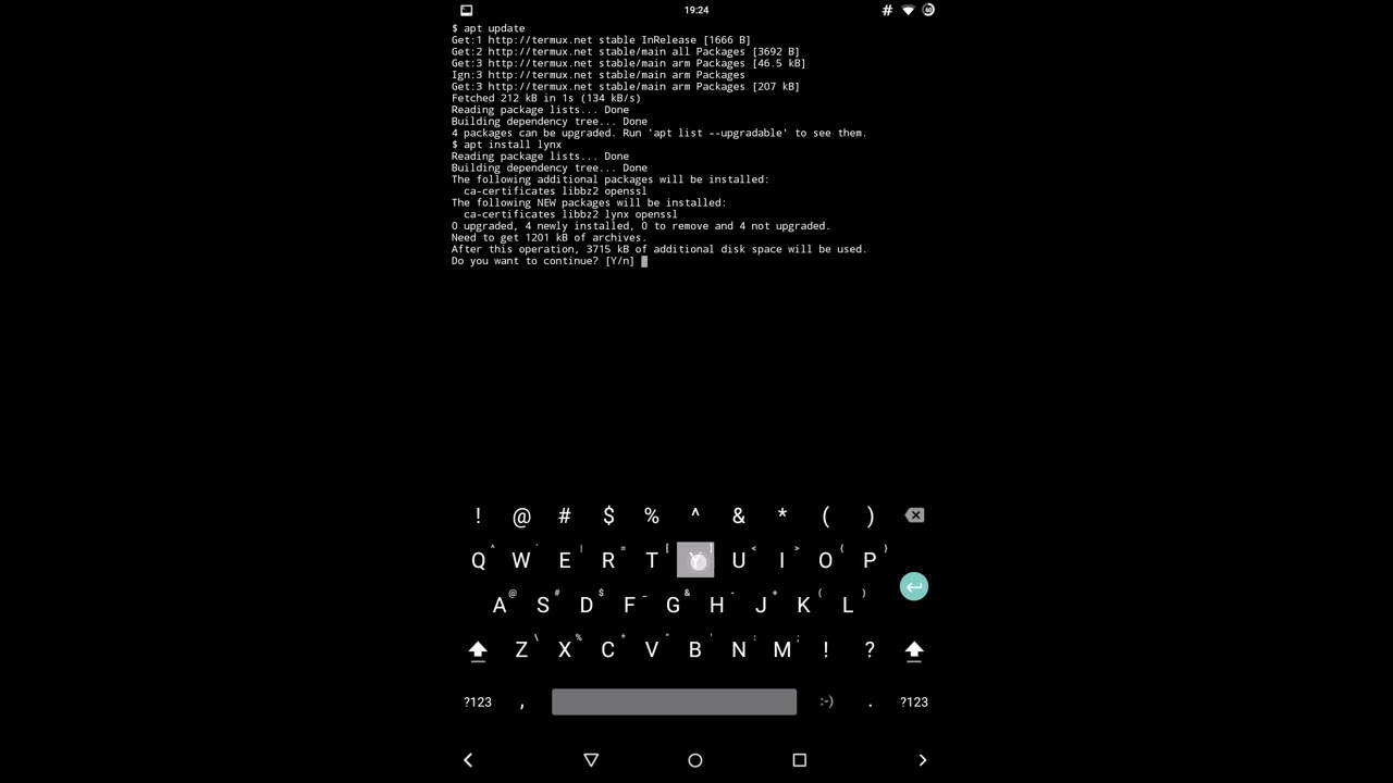 lynx browser in android
