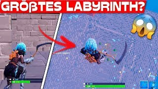 BIGGEST LABYRINTH in FORTNITE? | Labyrinth with download code!