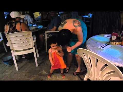 Babies dancing | baby dance | steel drums music | st john usvi