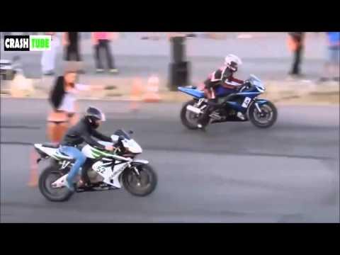 Tổng hợp những pha tai nạn moto thảm khốc  Phần 5- Accident