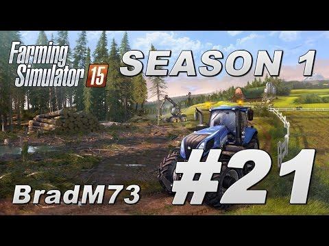 Farming Simulator 15 - Season 1 - Episode 21 - HAPPY THANKSGIVING Edition!