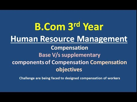 significance of compensation management