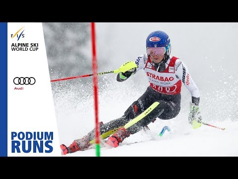 Mikaela Shiffrin | 1st place | Ladies' Slalom | Spindleruv | FIS Alpine
