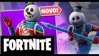 FORTNITE BR EN Snow Skin Scratch soldier Gameplay We LASCAMOS!!!