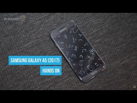 Samsung Galaxy A5 (2017) Hands On