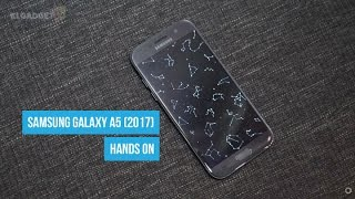 Samsung Galaxy A5 (2017) Hands On