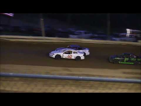 Compact Heat #2 from Jackson County Speedway, April 27th, 2018.