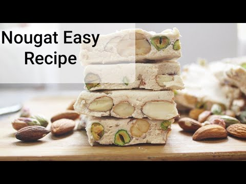 irani-sweet-nougat-recipe-|-persian-gaz-|-how-to-make-nougat-at-home