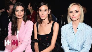 Top 10 Celebrities Who Are Always Front Row at Fashion Week