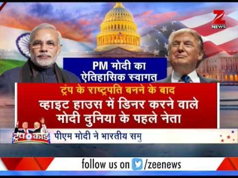Modi in US: Modi-Trump to discuss terrorism, Trump calls Modi