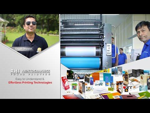 Technologies Used - RHI Printographics