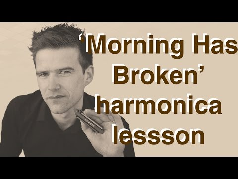 Morning Has Broken - Cat Stevens harmonica lesson - YouTube