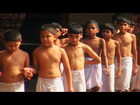 Kuthiyottam Boys in Attukal Temple, Thiruvananthapuram