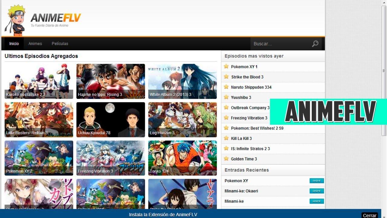 Plantilla de AnimeFLV Para Blogger 2017 - YouTube