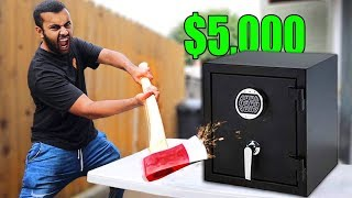 $5,000 If You Can Break Open This Abandon Safe!! (UNBREAKABLE SAFE CHALLENGE)