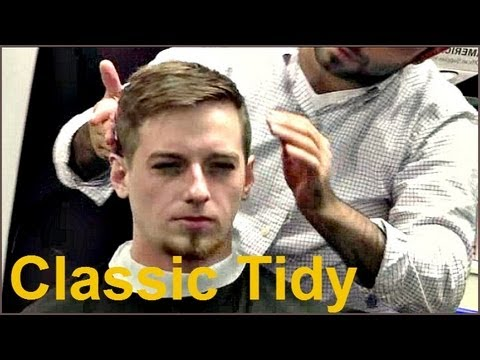 Barber Youtube : Barber Tutorials 8 - Classic Tidy Cut - YouTube