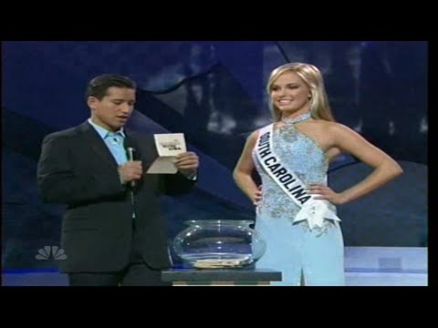 Uhhh...what did she just say?? Miss Teen South Carolina 2007 - Caitlin Upton