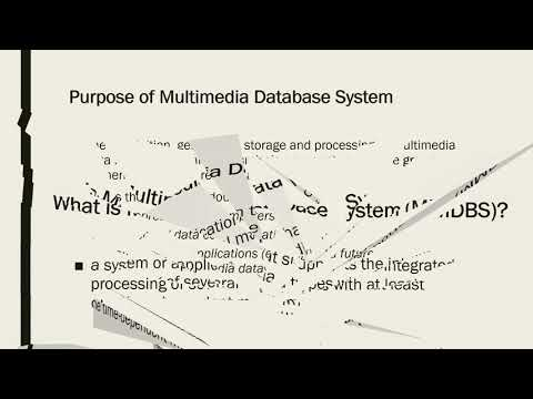 IST 659 Multimedia Databases