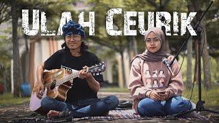 Ulah Ceurik - Detty Kurnia (Versi Akustik Gitar) Cover by Santi Aditya & Anjar Boleaz