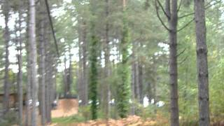 Andy at Go Ape! Zip Wire 5