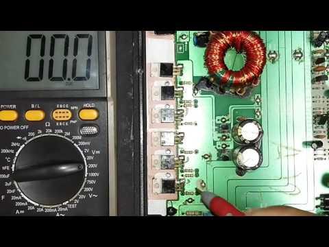 Explosound XM-3600 como saber qual Fet está ruim