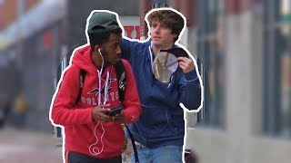 Taking Peoples Hats Prank