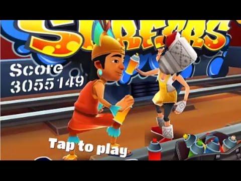 Subway Surfers Peru VS Singapore iPad Gameplay for Children HD #49
