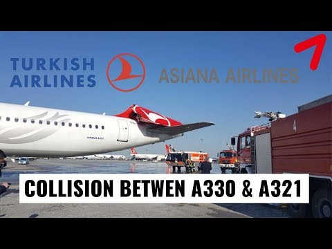 BREAKING: Asiana A330 COLLIDED with a Turkish Airlines A321 Tail!
