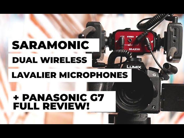 Saramonic Dual Wireless Lavalier Microphone + Panasonic G7 | Best Budget Mic For Professional Jobs!