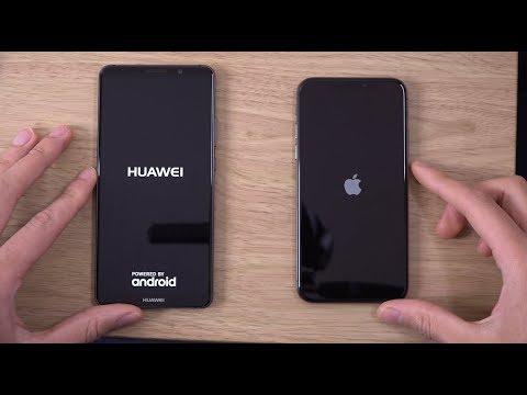Huawei Mate 10 Pro vs iPhone X - Speed & Camera Test!