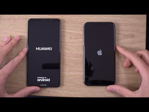 huawei mate 10 pro vs iphone x speed camera test. Black Bedroom Furniture Sets. Home Design Ideas