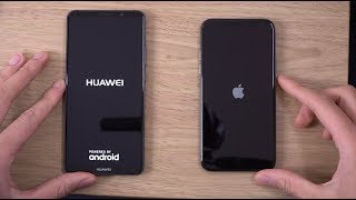 Huawei Mate 10 Pro vs iPhone X - Speed & Camera Test!
