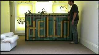 The Disturbance Reception Desk ( Clarissedesign.com)