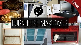 27 Furniture makeover