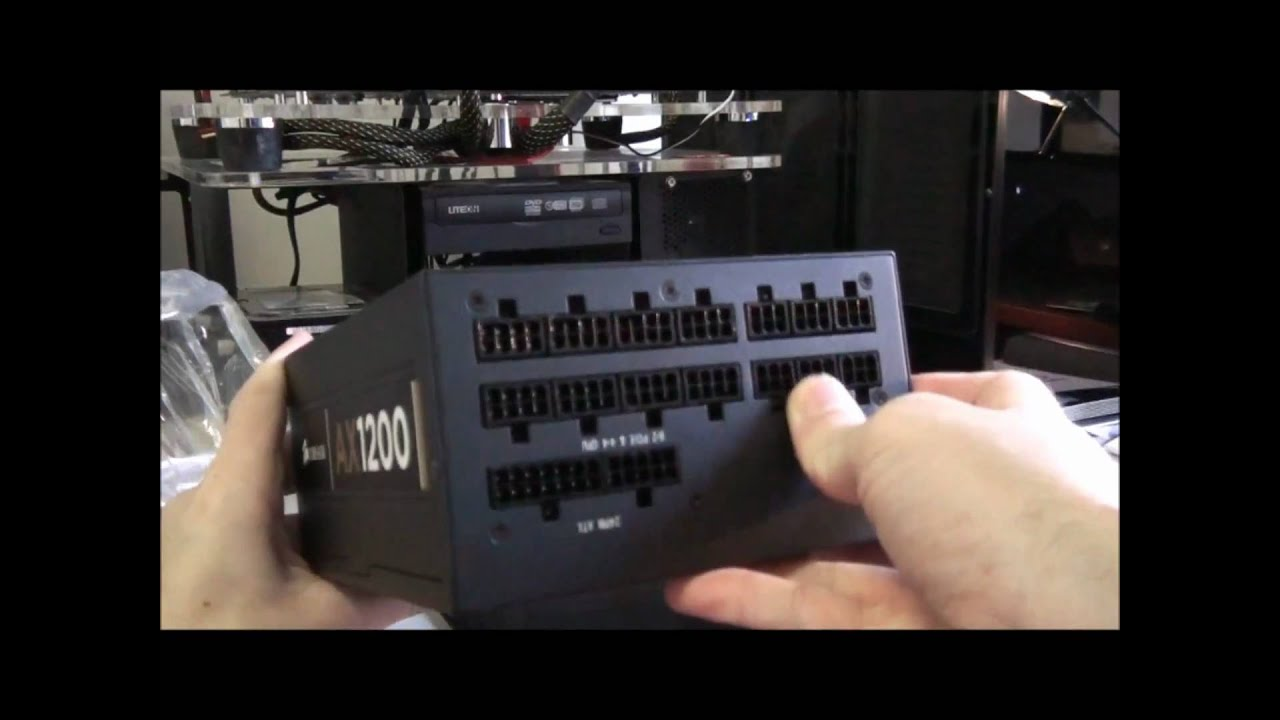 Corsair Ax1200 Power Supply Overview