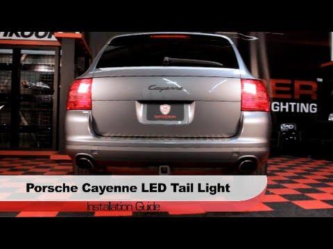 Spyder Auto Installation 2003 07 Porsche Cayenne Led Tail